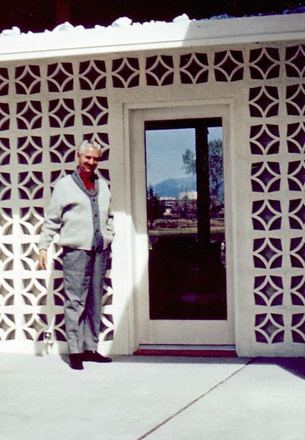 Morelli at door