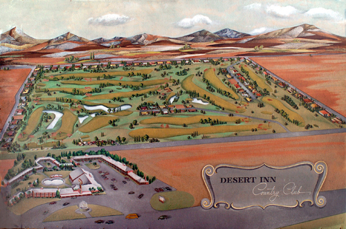 Plot Plan – Desert Inn Country Club Estates   The Historic